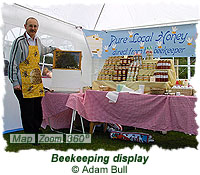 Beekeeping display