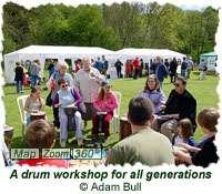 A drum workshop for all generations
