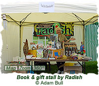 Book & gift stall by Radish