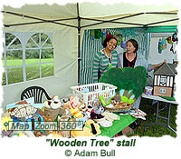 Wooden Tree stall