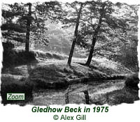 Gledhow Beck in 1975